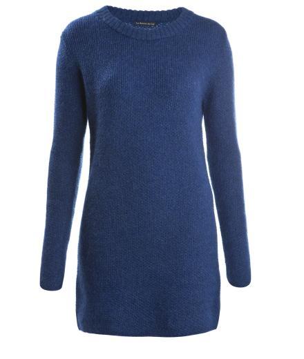 Les Racines Du Ciel Big Pullover Alpaca Blue
