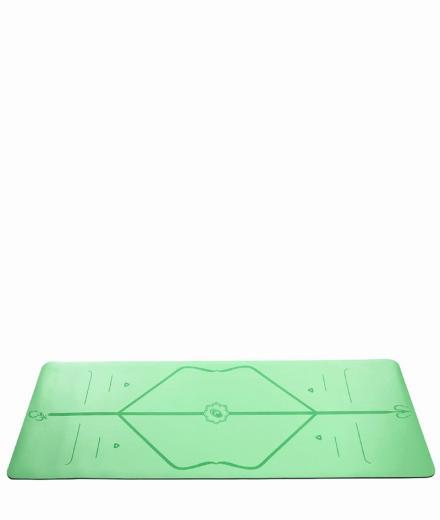 Liforme Yoga Travel Mat green
