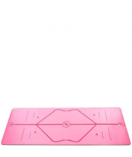 Liforme Yoga Travel Mat pink