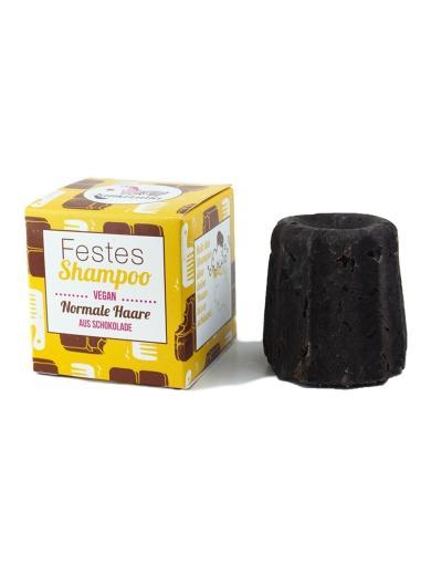 Lamazuna Festes Shampoo Schokolade - für normales Haar