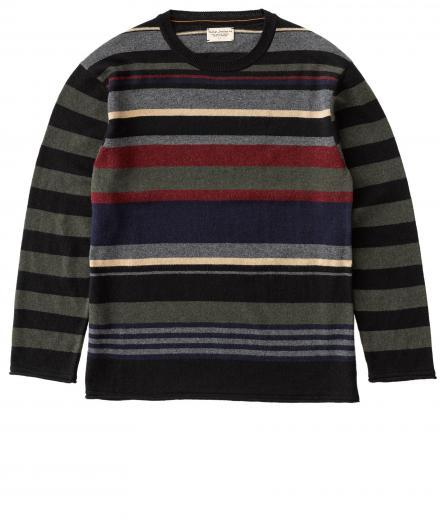 Nudie Jeans Loffe Kurbits Stripe multicolour | L