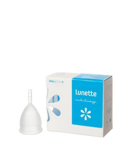 Lunette Menstruationskappe klar Modell 1