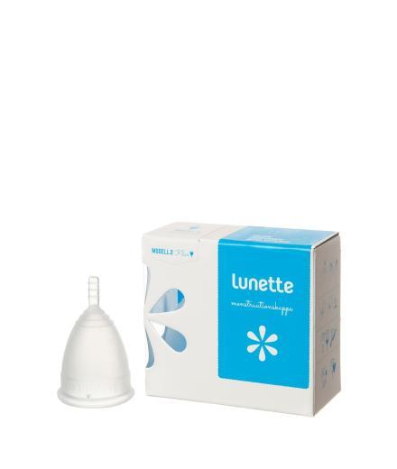 Lunette Menstruationskappe klar Modell 2