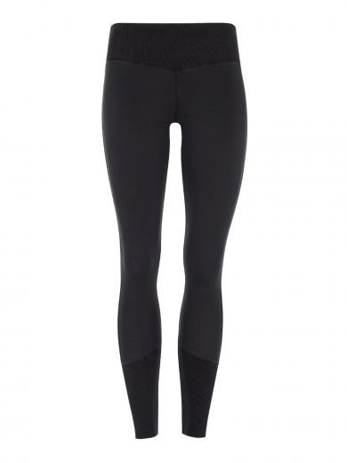MANDALA Ribbed, Mid Rise Legging black