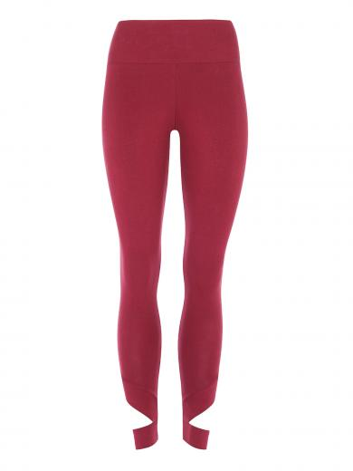 MANDALA High Waist Legging With Cut Out kir royal