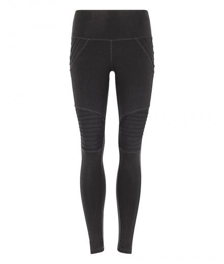 MANDALA Biker Tights black