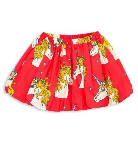 Mini Rodini Unicorn Star Woven Skirt