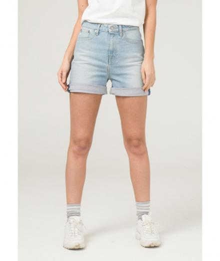 MUD JEANS Beverly Short Sun stone