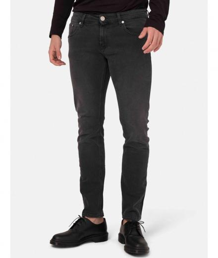 MUD JEANS Slim Lassen stone_black