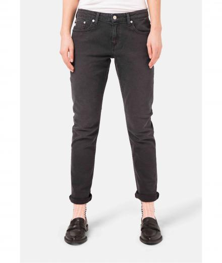 MUD JEANS Boyfriend Basin stone black | 28/32