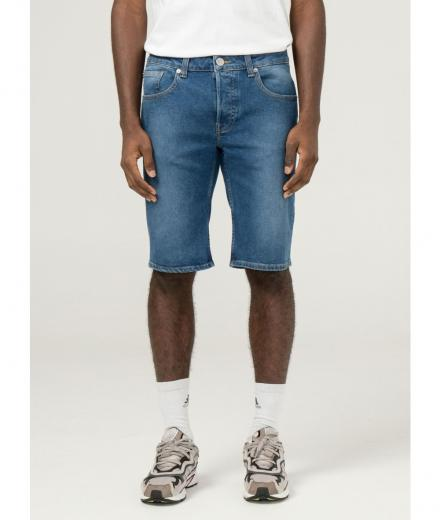 MUD JEANS Simon Short pure blue