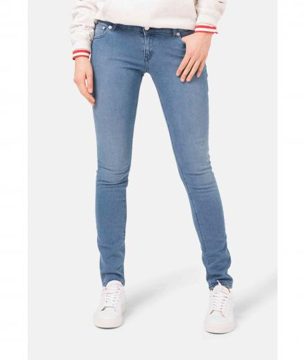 MUD JEANS Skinny Lilly pure blue | 27/32