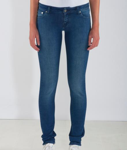 MUD JEANS Skinny Lilly pure blue | 29/32