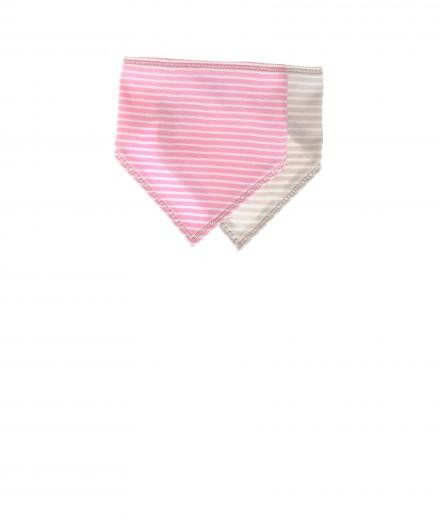 *my circus* I Love Sugar Pearls Baby Bib pink