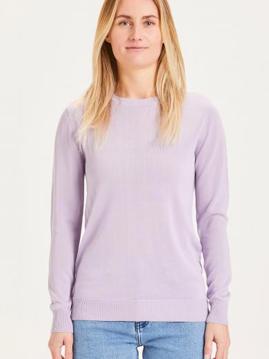 Knowledge Cotton Apparel Myrthe Pastel Lilac