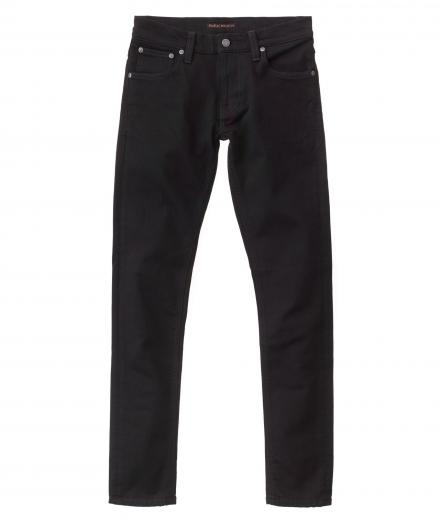 Nudie Jeans Tight Terry ever black | 30/32