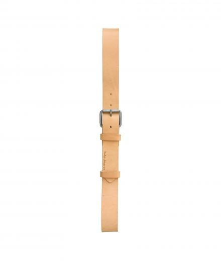 Nudie Jeans Pedersson Leather Belt natural | 90