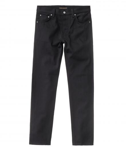 Nudie Jeans Steady Eddie II dry ever black 33/32