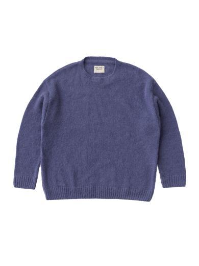 Nudie Jeans Lena Alpaca Sweatshirt Lilac