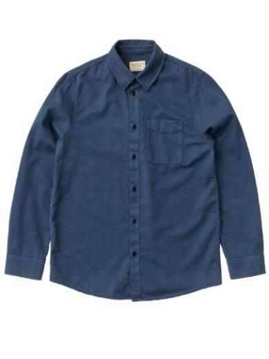 Nudie Jeans Chet Pigment Dye Indigo Blue