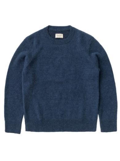 Nudie Jeans Hampus Solid Sweater Indigo Blue