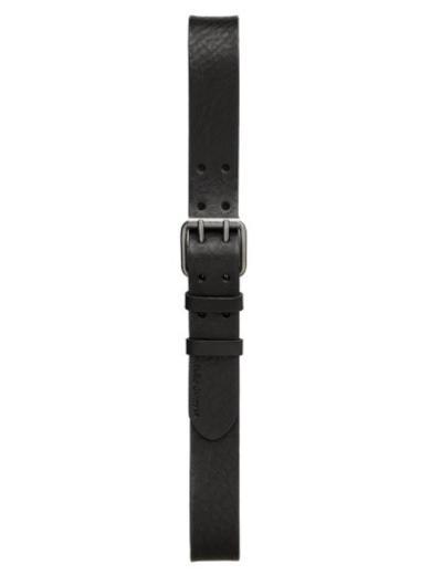 Nudie Jeans Jeffson Belt Double Prong Black