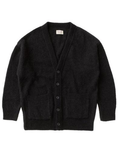 Nudie Jeans Manne Alpaca Cardigan Black