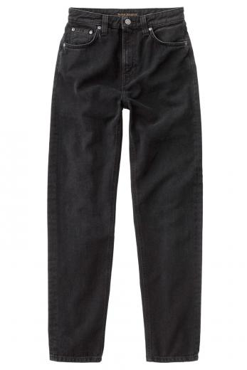 Nudie Jeans Breezy Britt black worn | 27/28