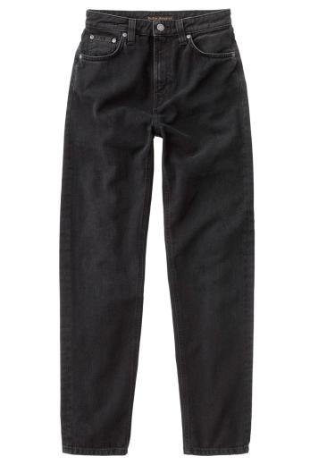 Nudie Jeans Breezy Britt black worn   28/30