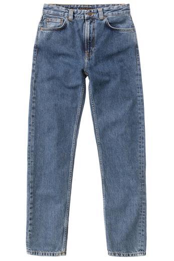 Nudie Jeans Breezy Britt friendly blue