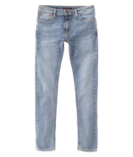 Nudie Jeans Skinny Lin light blue pwr | 28/32