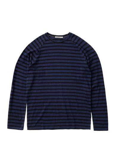 Nudie Jeans Otto Breton Stripe Blueberry