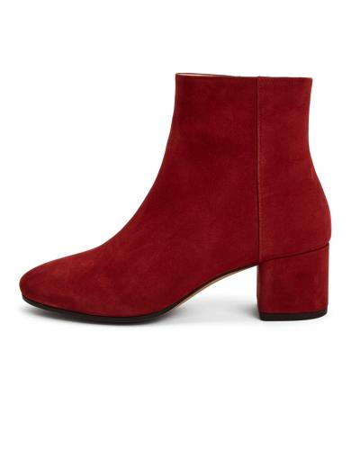 NINE TO FIVE Ankle Boot #strand Red Wine