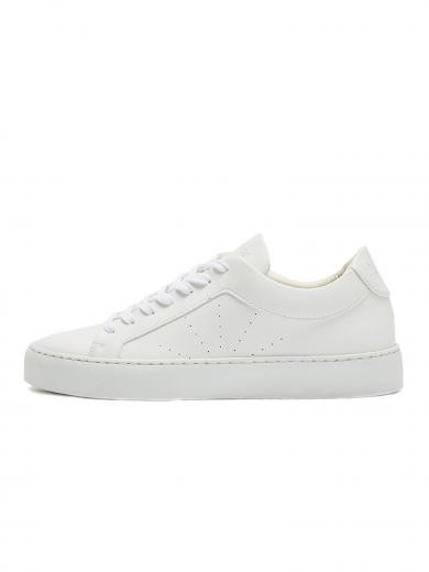 NINE TO FIVE Laced Sneaker #gracia - vegan all white