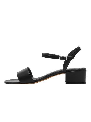 NINE TO FIVE Strappy Sandal #sul black