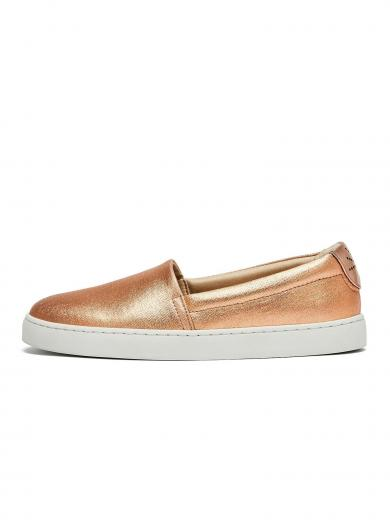 NINE TO FIVE Slip Sneaker #sarria copper cotton