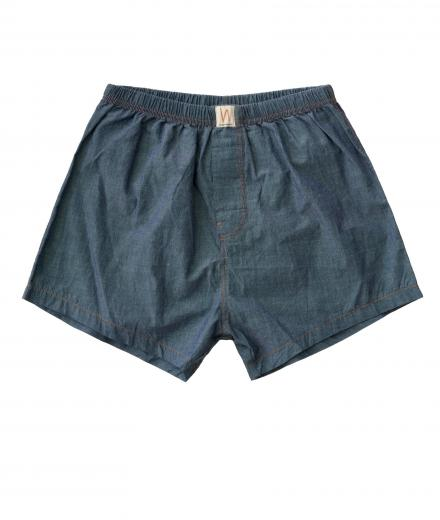 Nudie Jeans Boxers Chambray