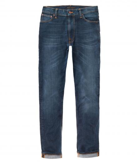 Nudie Jeans Grim Tim Blue Swede