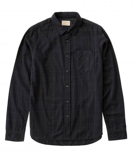 Nudie Jeans Henry Flannel Check Black | XL