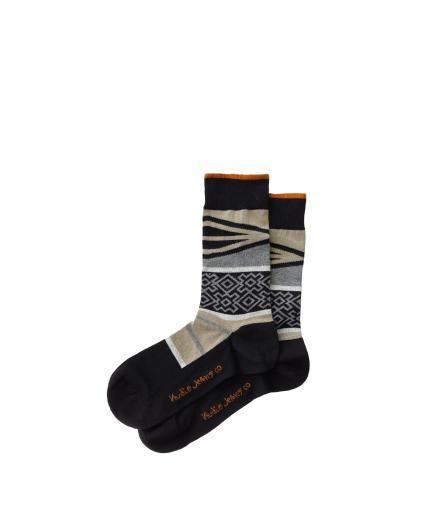 Nudie Jeans Olsson Folk Socks