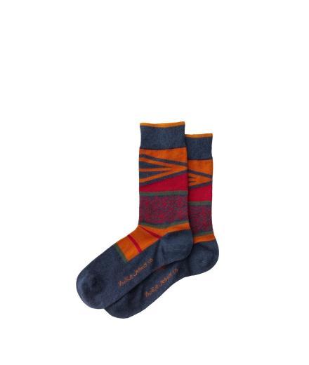 Nudie Jeans Olsson Folk Socks Blue