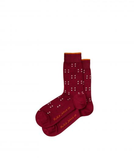 Nudie Jeans Olsson Socks Four Dots