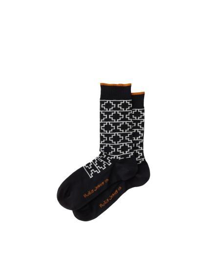 Nudie Jeans Olsson Graphic Socks