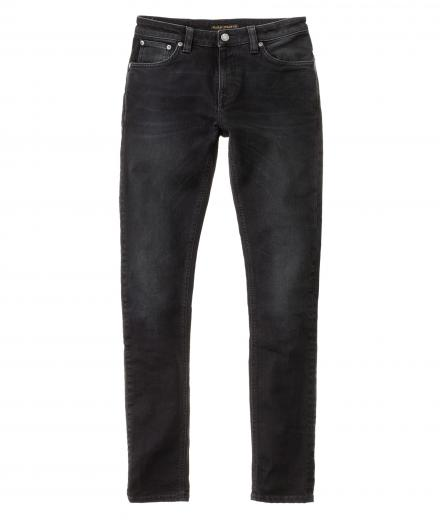 Nudie Jeans Skinny Lin Black Habit 31/32