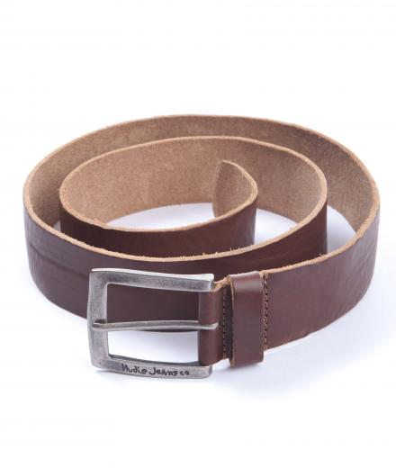 Nudie Jeans Antonsson Belt Vintage Used 85cm | brown