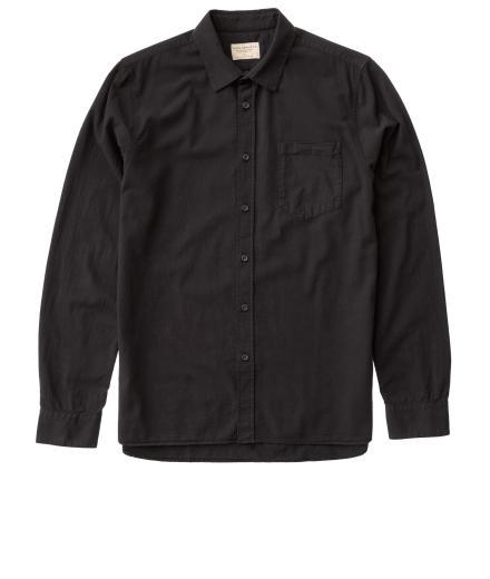 Nudie Jeans Henry Batiste Garment Dye black | L