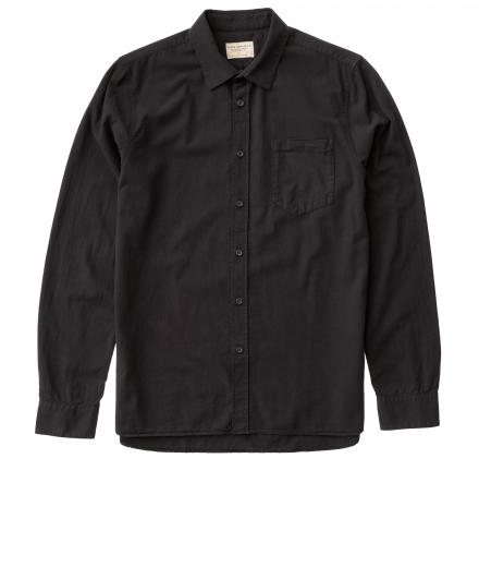 Nudie Jeans Henry Batiste Garment Dye black | XL