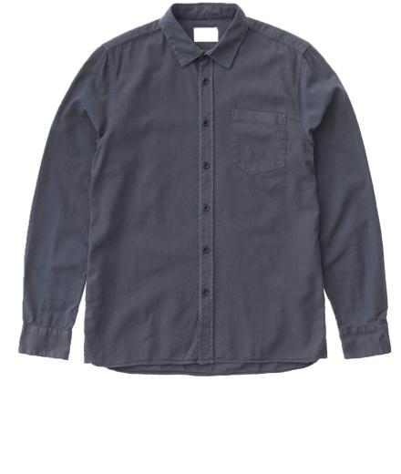 Nudie Jeans Henry Batiste Garment Dye royal ash | M