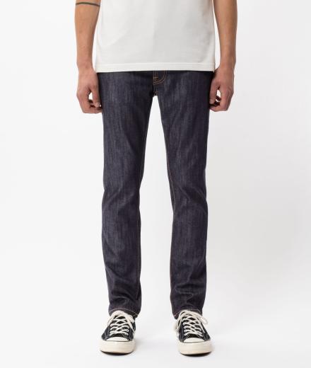 Nudie Jeans Lean Dean Dry Ecru Embo
