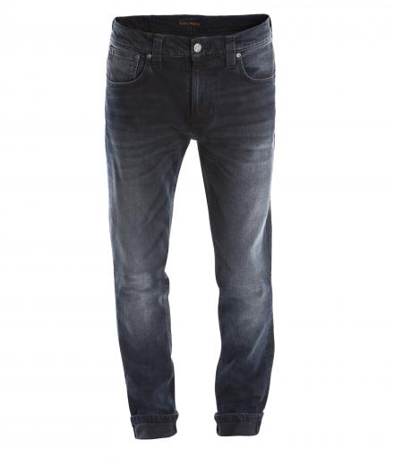 Nudie Jeans Tape Ted Blue Black
